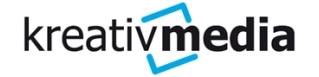 Logo von Kreativ Media GmbH